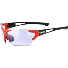 UVEX Sportstyle 803 Race VM Bike Glasses red/black